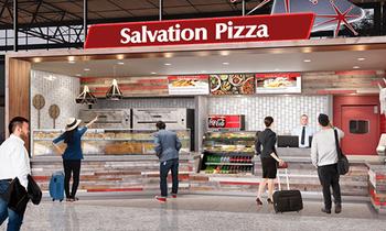 Salvation Pizza - AIBA Airport